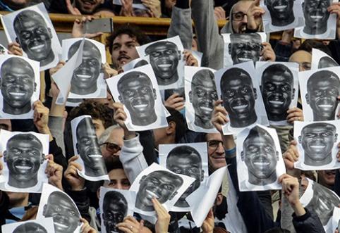Italai užsimojo iš stadionų išgaudyti rasistus