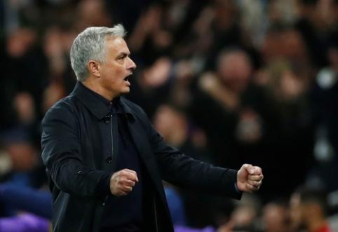 """Kamuolių padavinėtoją pagyręs J. Mourinho: """"Olympiakos"""" mus nustebino"""""""