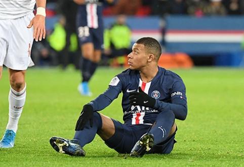 "K.Mbappe: dar nenusipelniau ""Auksinio kamuolio"""