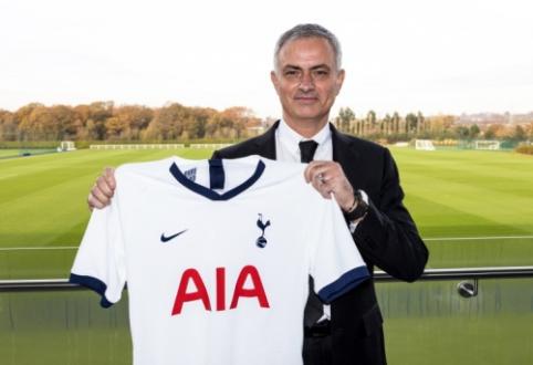 """Oficialu: J. Mourinho stoja prie """"Tottenham"""" vairo"""