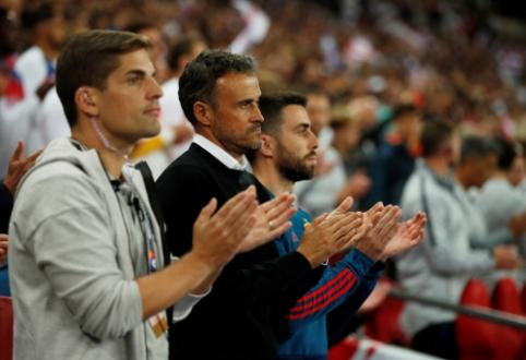 Netikėtos naujienos: L. Enrique gali grįžti į Ispanijos rinktinės trenerio postą