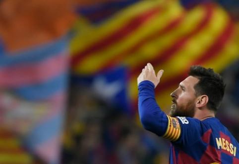 """Pele: """"Messi, Ronaldo ar Neymaras? Labiausiai norėčiau žaisti su Leo"""""""
