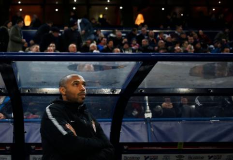 Prancūzijos legenda T. Henry sugrįžta į trenerio kėdę