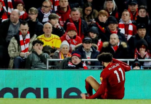 M. Salah dėl traumos nepadės Egipto rinktinei