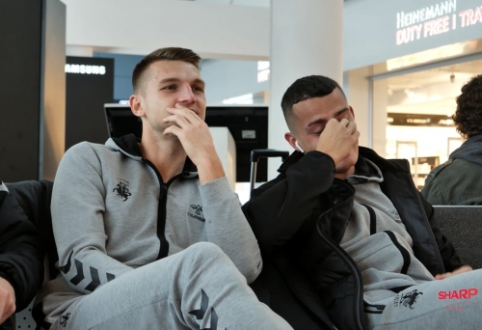 Lietuvos rinktinė sėkmingai pasiekė Portugaliją