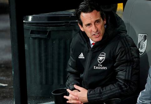 """Aiškėja, kiek laiko """"Arsenal"""" vadovai suteikė U.Emery"""
