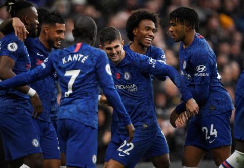 """Su """"Crystal Palace"""" susitvarkęs """"Chelsea"""" šventė šeštąją pergalę paeiliui"""