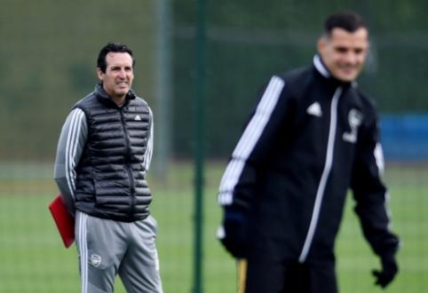 """U. Emery: """"Nežinau, ar Xhaka dar kada pasirodys aikštėje su """"Arsenal"""" marškinėliais"""""""
