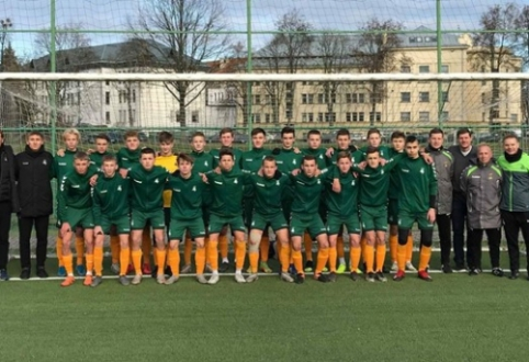 Regionų U-16 rinktinė startavo pergalėmis