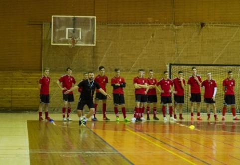 Nauja istorija: U-21 futsal rinktinė