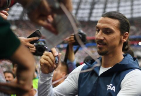 """MLS komisaras užsiminė apie Z. Ibrahimovičiaus persikėlimą į """"Milan"""""""