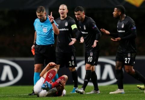 """G. Mažeika po Europos lygos rungtynių užsitraukė """"Bešiktaš"""" fanų neapykantą"""