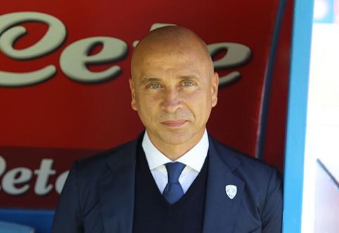 """""""Brescia"""" atsisveikino su vyr. treneriu"""