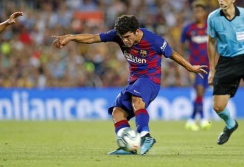 """Oficialu: """"Barcelona"""" kitai Ispanijos komandai paskolino C. Aleną"""