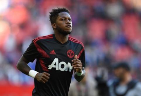 """Fredas tiki, kad """"Man Utd"""" šį sezoną gali kovoti dėl trijų trofėjų"""