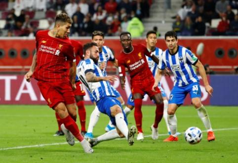 """Rimto pasipriešinimo sulaukusi """"Liverpool"""" ekipa žengė į FIFA pasaulio klubų taurės finalą"""