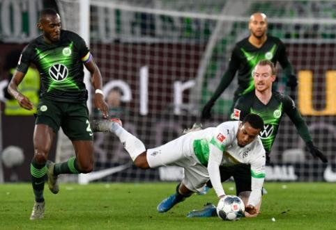 """""""Wolfsburg"""" namuose palaužė """"Gladbach"""" ekipą"""