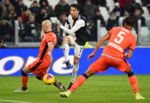 """""""Juventus"""" užtikrintai susitvarkė su """"Udinese"""", """"Atalanta"""" ir """"AC Milan"""" barstė taškus"""