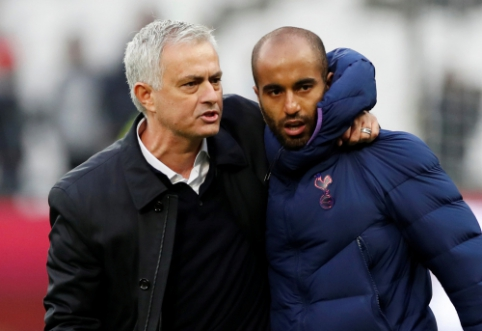 """L. Moura: """"Tikiu, kad su Mourinho galime kovoti dėl trofėjų"""""""