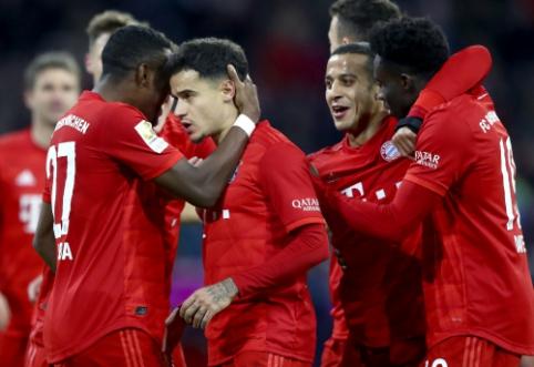 """""""Bayern"""" pervažiavo """"Werder"""", BVB neturėjo vargo su """"Mainz"""""""