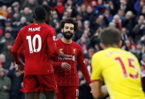 """M. Salah dublis paskandino """"Watford"""" laivą"""