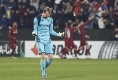 """EL: G. Arlauskio klubas žengė į atkrintamąsias, """"Arsenal"""" išvengė pralaimėjimo Belgijoje"""