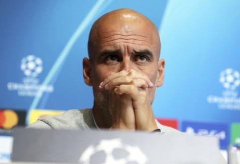 """P. Guardiola: """"Nesiruošiame koncentruotis tik į Čempionų lygą"""""""