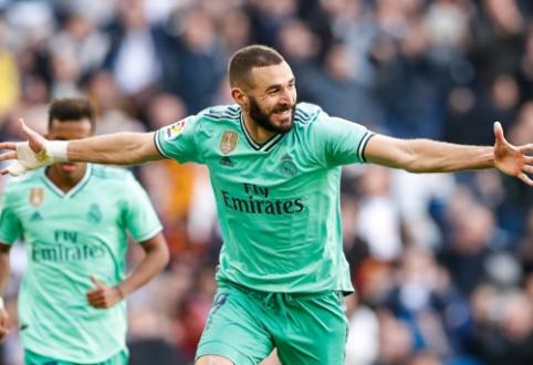 """""""La Liga"""": """"Real"""" šventė ketvirtąją pergalę paeiliui, """"Valencia"""" triumfavo miesto derbyje"""