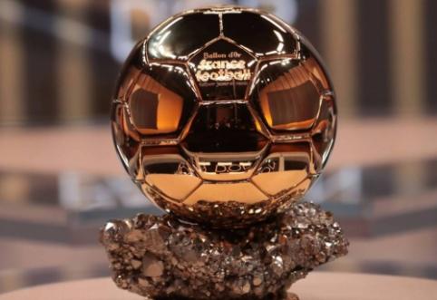 """Paskelbti """"Ballon d'Or"""" rinkimų rezultatai (1-30 pozicijos)"""