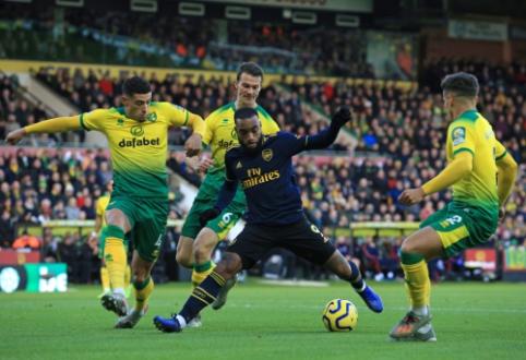 """""""Arsenal"""" šeštą kartą iš eilės liko be pergalės """"Premier"""" lygoje"""