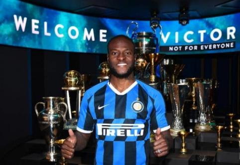 """Oficialu: V. Mosesas prisijungė prie """"Inter"""""""