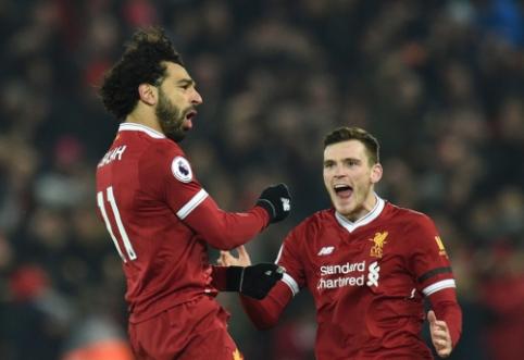 """M. Salah: """"Dar per anksti galvoti, kad laimėjome """"Premier"""" lygą"""""""
