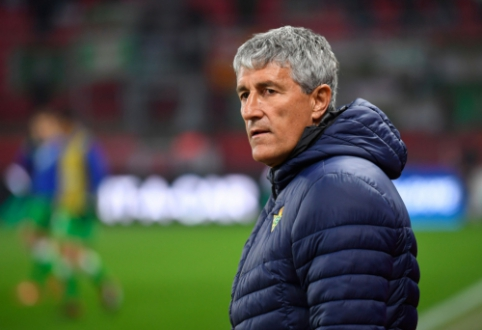 "Oficialu: E. Valverde atleistas iš ""Barcelona"" trenerio posto, jį keičia Q. Setienas"