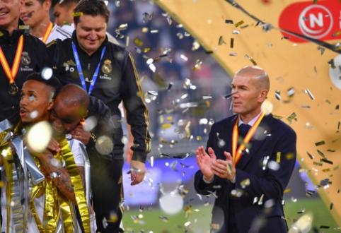 Z. Zidane'as – finalų nepralaimintis strategas