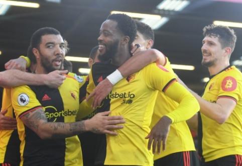 """""""Watford"""" tolsta nuo dugno: iškovota trečia pergalė iš eilės"""
