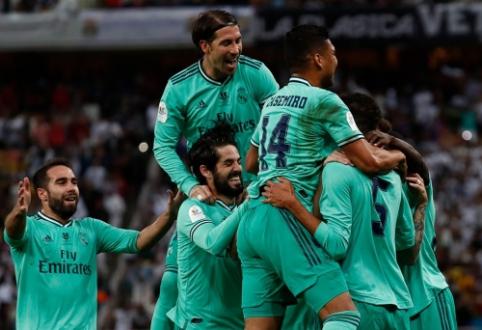 """""""Real"""" be vargo įveikė """"Valencia"""" ir žais Supertaurės finale"""