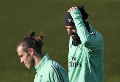 """K. Benzema ir G. Bale'as praleis """"Real"""" išvyką į Saudo Arabiją"""