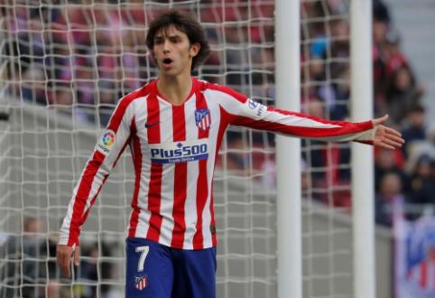 J. Felixas praleis Madrido derbį