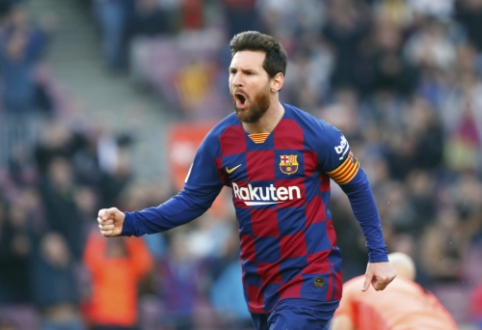 """Ispanijoje – keturi L. Messi įvarčiai ir triuškinanti """"Barcelona"""" pergalė"""