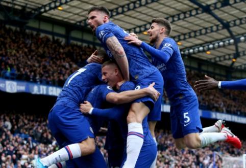 "Dominavęs ""Chelsea"" šventė pergalę Londono derbyje"