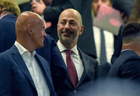 """I.Gazidis: """"Milan"""" turi pinigų, tačiau negalime pažeisti FFP taisyklių"""