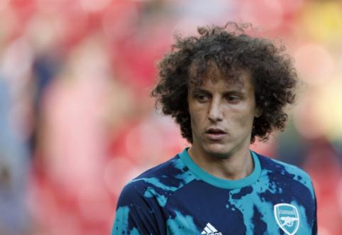 """D. Luizas optimistiškai vertina """"Arsenal"""" šansus Europos lygoje"""