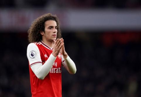 """""""Arsenal"""" stovykloje – M. Guendouzi ir M. Artetos konfliktas"""