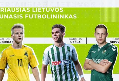 Geriausi Lietuvos jaunieji futbolininkai iš arti