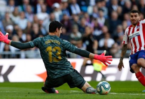 """""""Real"""" džiaugiasi rezultatais gynyboje, """"Atletico"""" – vargsta puolime"""