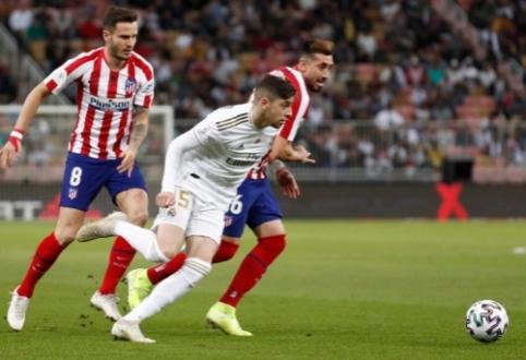 Madrido komandos paskelbė sudėtis artėjančiam derbiui