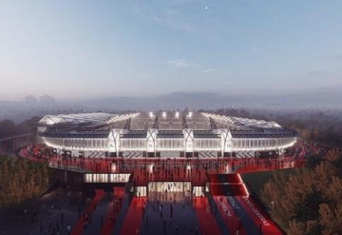 Stabdoma Nacionalinio stadiono koncesijos pasirašymo procedūra