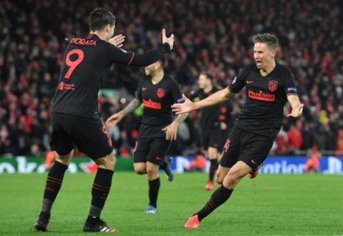 """Sensacingas Čempionų lygos vakaras Liverpulyje baigėsi """"Atletico"""" triumfu"""