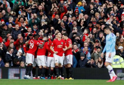 """Mančesterio derbyje – Edersono klaidos ir """"Man Utd"""" pergalė"""