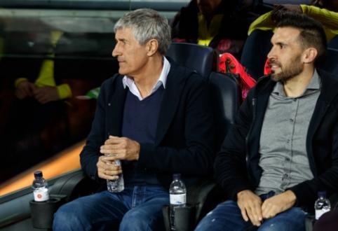 """Q. Setienui teko pasiaiškinti dėl savo asistento elgesio """"El Clasico"""" dvikovoje"""